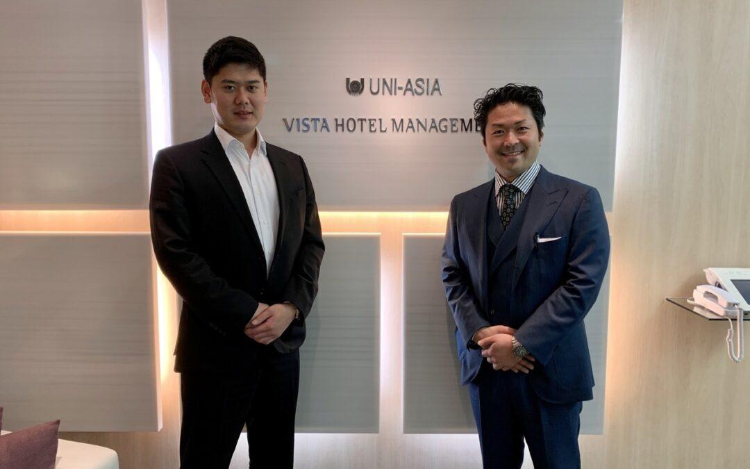 ユニ・アジアキャピタルジャパン 浅越裕介さん、鈴木貞史さん