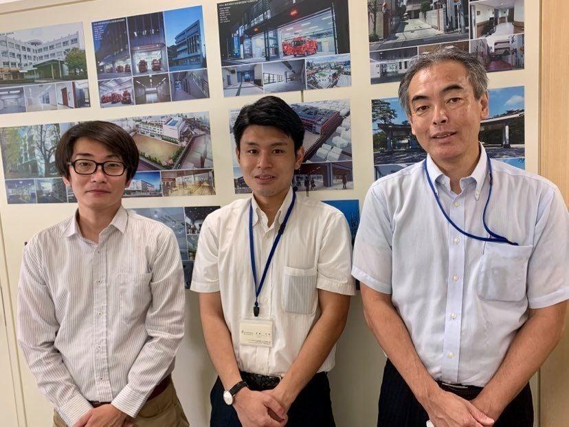 綜企画設計 田上雅章さん、斎藤孝晴さん、植村嘉仁さん