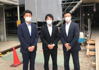 ティップネス 藤原 孝行さん、丸石 圭悟さん、大野 俊也さん、長谷川 光さん